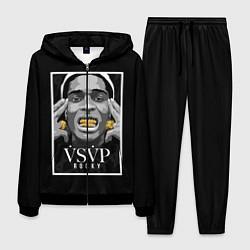 Костюм мужской ASAP Rocky: Gold Edition цвета 3D-черный — фото 1