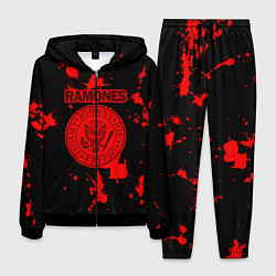 Костюм мужской Ramones Blood цвета 3D-черный — фото 1