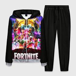Костюм мужской Fortnite: Battle Royale цвета 3D-меланж — фото 1