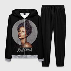 Костюм мужской Rihanna цвета 3D-меланж — фото 1