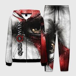 Костюм мужской God of War: Kratos цвета 3D-черный — фото 1