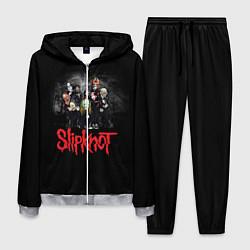 Костюм мужской Slipknot Band цвета 3D-меланж — фото 1