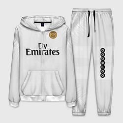 Костюм мужской FC PSG Away 18-19 цвета 3D-белый — фото 1