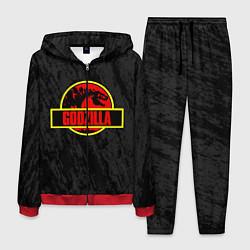 Костюм мужской Jurassic Godzilla цвета 3D-красный — фото 1