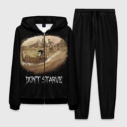 Костюм мужской Don't starve stories цвета 3D-черный — фото 1