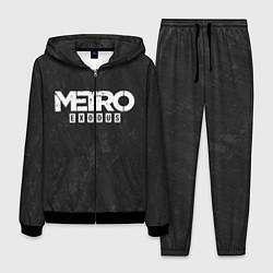 Костюм мужской Metro Exodus: Space Grey цвета 3D-черный — фото 1