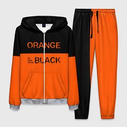 Костюм мужской Orange Is the New Black цвета 3D-меланж — фото 1