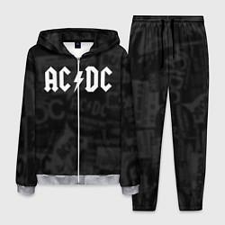 Костюм мужской AC/DC: Black Rock цвета 3D-меланж — фото 1