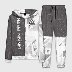 Костюм мужской Linkin Park: Grey Form цвета 3D-белый — фото 1