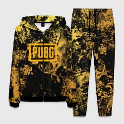 Костюм мужской PUBG: Yellow Marble цвета 3D-черный — фото 1