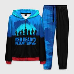 Костюм мужской RDR 2: Blue Style цвета 3D-красный — фото 1