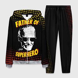 Костюм мужской Stan Lee: Father of Superhero цвета 3D-меланж — фото 1