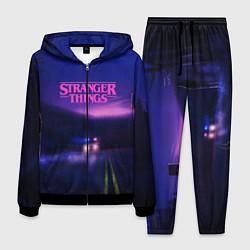 Костюм мужской Stranger Things: Neon Road цвета 3D-черный — фото 1