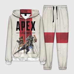 Костюм мужской Apex Legends цвета 3D-белый — фото 1
