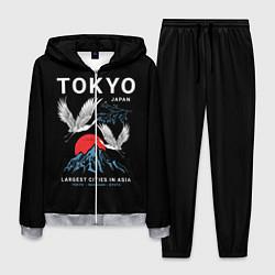 Костюм мужской Tokyo цвета 3D-меланж — фото 1