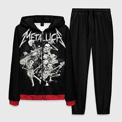 Костюм мужской Metallica: Bones Rock цвета 3D-красный — фото 1