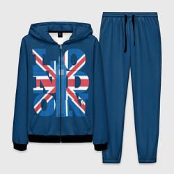 Костюм мужской London: Great Britain цвета 3D-черный — фото 1