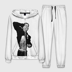 Костюм мужской ASAP Rocky: White Fashion цвета 3D-белый — фото 1