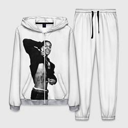Костюм мужской ASAP Rocky: White Fashion цвета 3D-меланж — фото 1