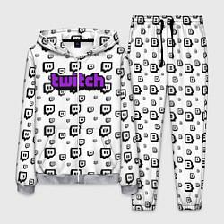Костюм мужской Twitch Online цвета 3D-меланж — фото 1