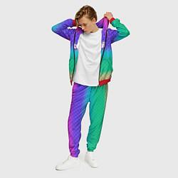 Костюм мужской Rainbow Twitch цвета 3D-красный — фото 2