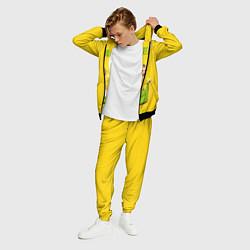 Костюм мужской Billie Eilish: Yellow Mood цвета 3D-черный — фото 2
