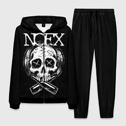 Костюм мужской NOFX Skull цвета 3D-черный — фото 1