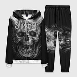 Костюм мужской Slipknot: Devil Skull цвета 3D-белый — фото 1
