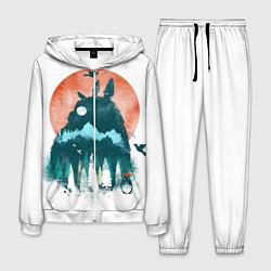 Костюм мужской Лесной Тоторо цвета 3D-белый — фото 1