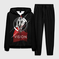 Костюм мужской Vision цвета 3D-черный — фото 1