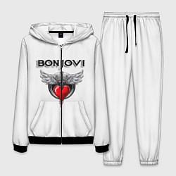 Костюм мужской Bon Jovi цвета 3D-черный — фото 1