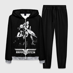 Костюм мужской Rammstein цвета 3D-меланж — фото 1