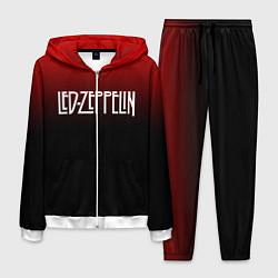 Костюм мужской Led Zeppelin цвета 3D-белый — фото 1
