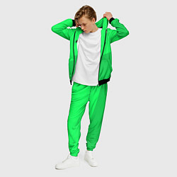 Костюм мужской Billie Eilish: Duo Green цвета 3D-черный — фото 2