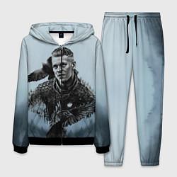 Костюм мужской Vikings цвета 3D-черный — фото 1