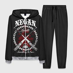 Костюм мужской The Walking Dead Negan цвета 3D-меланж — фото 1