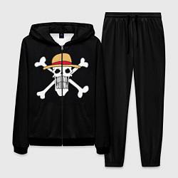 Костюм мужской One Piece цвета 3D-черный — фото 1