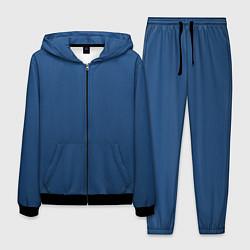 Костюм мужской 19-4052 Classic Blue цвета 3D-черный — фото 1