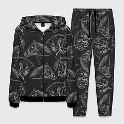 Костюм мужской Кони цвета 3D-черный — фото 1