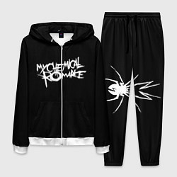 Костюм мужской My Chemical Romance spider цвета 3D-белый — фото 1