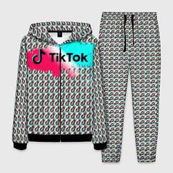 Костюм мужской TikTok цвета 3D-черный — фото 1