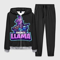 Костюм мужской Fortnite LLAMA цвета 3D-меланж — фото 1
