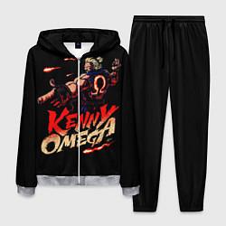Костюм мужской Kenny Omega Street Fighter цвета 3D-меланж — фото 1
