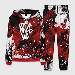 Костюм мужской Noize MC цвета 3D-красный — фото 1