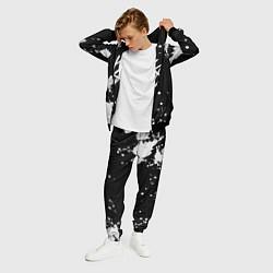 Костюм мужской Stray Kids цвета 3D-черный — фото 2