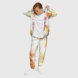 Костюм мужской WIDOWS BITE цвета 3D-меланж — фото 2