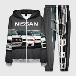 Костюм мужской NISSAN цвета 3D-меланж — фото 1