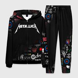 Костюм мужской Metallica цвета 3D-черный — фото 1
