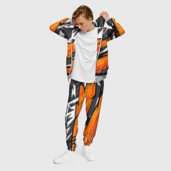 Костюм мужской Bona Fide Одежда для фитнеса цвета 3D-меланж — фото 2