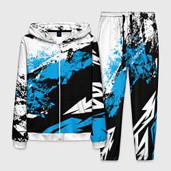 Костюм мужской Bona Fide Одежда для фитнеcа цвета 3D-белый — фото 1